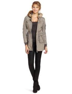 Doma Women's Hooded Parka, Gray, Medium Doma. $484.00