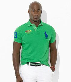 1f91de82864  46.20- 49.50 Polo Ralph Lauren Big and Tall ClassicFit ShortSleeved  CrossedFlags Mesh Polo Shirt