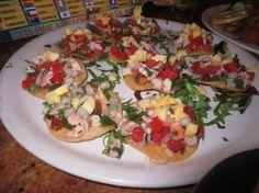 Alegria-- Ceviche De Camaron The Oc, Sangria, Bruschetta, Tasty, Ethnic Recipes, Food, Essen, Meals, Yemek