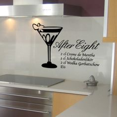 Es ist soweit. Die Süßigkeit After Eight gibt es jetzt auch als Getränk. Also um immer das Rezept parat zuhaben hol dir das After Eight Rezept an deine Wand. #AfterEight #Rezept  #Wadeco // http://www.wadeco.de/after-eight-wandtattoo.html