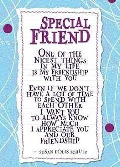 New Ideas Birthday Wishes Quotes Friendship Special Friend Quotes, Friend Poems, Special Friends, Real Friends, Thank You Friend Quotes, Beautiful Friend Quotes, Happy Birthday Special Friend, Sister Friend Quotes, Wish Quotes