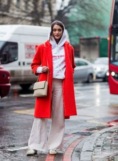 Hooded sweatshirts are a must this season, thanks to the streetwear popularized by Vetements. Instead of yo...