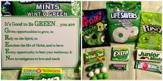 St Patrick's Day or Missionary Greenie Package