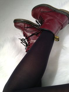 These Oxblood boots love Amazing with almost everything. Most 2012 boots are still rocking this season. A word for those wanting to buy more 'trendy' stuff.
