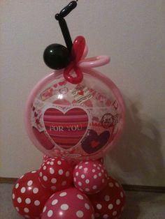 Love Notes balloon bouquet