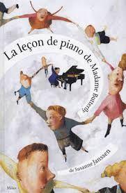 La leçon de piano de Madame Butterfly Susanne Janssen