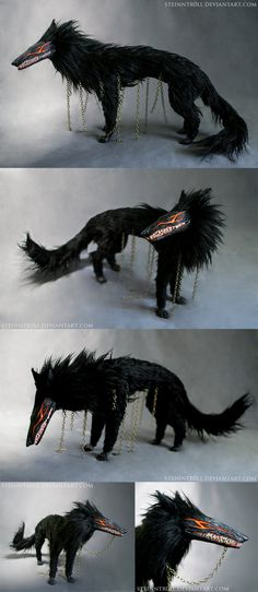 Beast of Darkness by Steinntr0ll.deviantart.com on @DeviantArt