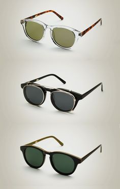 Gafas de sol Han Kjobenhavn Primavera / Verano 2013  | Essentials (men's accessories)