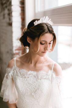 Bridal Fantasy! 16 Whimsically Sweet Quartz Crystal Headpieces!