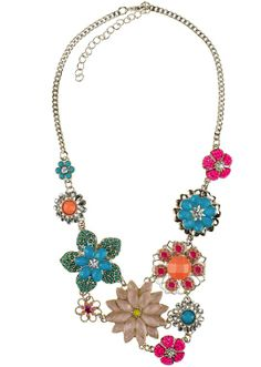 Love a statement necklace!