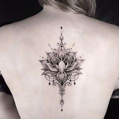Embellished lotus by Calvin. @grxsy #goldenirontattoostudio #teamgoldeniron #thefineartfactory