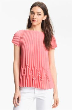 Ted Baker London Pleated Top available at #Nordstrom