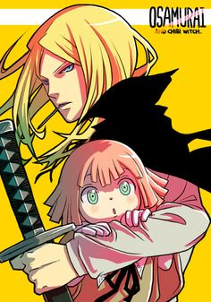 Soul Eater ~~~ Mifune and the chibi Witch named Angela