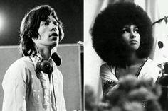 Mick Jagger & Marsha Hunt- Inspiration for Brown Sugar