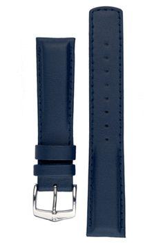 Hirsch RUNNER Waterproof Calf Leather Watch Strap in BLUE – WatchObsession