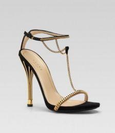 Gucci Minimal Strap Heels