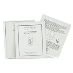 Yves Saint Laurent Night Care, 8 x 22 ml Temps Majeur White Whitening Sheet-Masque for Women -  A high-performance whitening mask,,Formulated with potent  unique active ingredients ,,Helps prevent appearance of dark spots  aging signs ,,Enhances translucency of skin,,Skin appears suppler, sleeker  lighter, like newly born ,,Ideal for all skin types including sensitive...