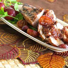Pork Tenderloin with a Honey Grape Sauce - Allrecipes.com