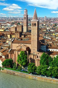 Panorama of Verona, Italy   |  45 Reasons why Italy is One of the most Visited Countries in the World