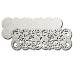 Shapeabilities® Laced with Love Lonely Hearts Etched Dies