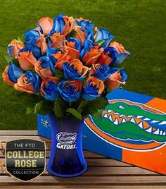 University of Florida Gators - roses...Someone please get these for me. Birthday is Nov