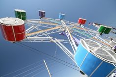 Rock O Rocket - this was my fav carnival ride, we use to ride it over and over again!