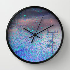 road to the dream Wall Clock