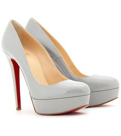 Christian Louboutin ~ Bianca 140 Patent Leather Platform Pumps Design works No.1809 |2013 Fashion High Heels|