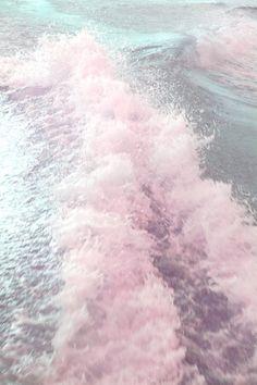 Pretty pink waves.