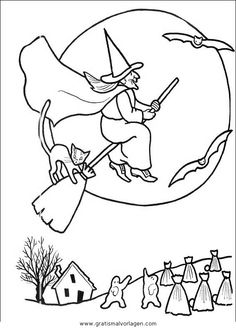 There are tons of free printable Halloween coloring and activity ...