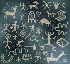 Petroglyphs Illustrations and Clip Art. 267 Petroglyphs royalty free illustrations and drawings available to search from thousands of stock vector EPS clipart graphic designers. Viking Symbols, Egyptian Symbols, Viking Runes, Ancient Symbols, Mayan Symbols, Cave Drawings, Animal Drawings, Ancient Paper, Stone Age Art