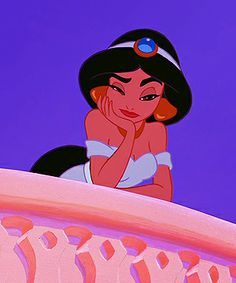 Jasmine: my favorite Disney princess and spirit animal. Yes. An animated woman is my spirit animal.