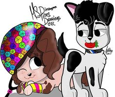 #Lutteo versão cachorrinhos  By: @mspines.drawings.ofc