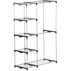 Home Depot Garment Rack Fascinating Whitmor Supreme Shelving Collection 36 Inx 7025 Insupreme Decorating Inspiration