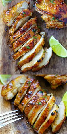 Honey Lime Chicken – crazy delicious chicken with honey lime marinade. The BEST … Honey Lime Chicken – crazy delicious chicken with honey lime marinade. The BEST chicken you can make in less than 20 mins! Honey Lime Chicken, Lime Chicken Recipes, Lime Recipes Dinner, Stove Chicken Recipes, Amazing Chicken Recipes, Bbq Dinner Ideas, Chicken Recipes For Dinner, Grilled Chicken Breast Recipes, Chili Lime Chicken