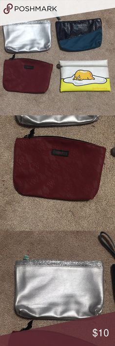 4 IPSY bags Never used Sephora Bags Cosmetic Bags & Cases