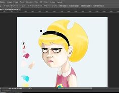 """Check out new work on my @Behance portfolio: """"- Mandy -"""" http://be.net/gallery/35034769/-Mandy-"""