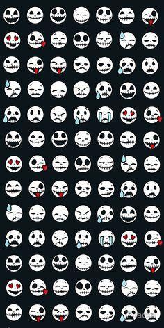 Nightmare Before christas - emoticonos