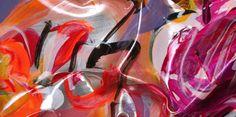 "Simon Raab ""Orchidansky"" (detail) 2011 www.parleau.com #simonraab #parleau #flower #art #spring Wall"