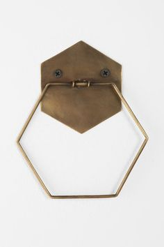 Hexagon Towel Ring - Urban Outfitters