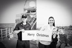 Deployment Christmas Card Idea @eileenhanleyphotography
