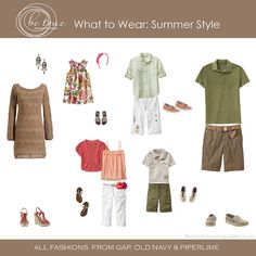 what to wear - summer  love this color combo!!