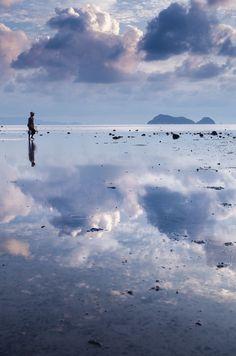 Sky Mirror, clam fis