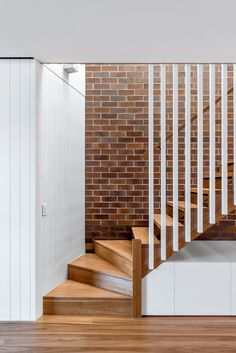 Stair Railing Design, Home Stairs Design, Interior Stairs, Home Interior Design, House Design, Interior Railings, Interior Architecture, Timber Stair, Timber Battens