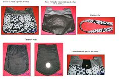 Bolso con relieve - lunares (3)
