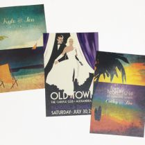 Vingate Poster Invitations Gifts for the Bride & Groom | Bermudian Weddings