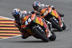 From Vroom Mag...  Miguel Oliveira takes third podium of the year at Sachsenring