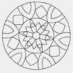 Images diy: mosaic templates/patterns mandala, applique templates и free mo Mandala Pattern, Mandala Design, Mandala Art, Pattern Art, Mandala Coloring Pages, Colouring Pages, Stained Glass Patterns, Mosaic Patterns, Dot Painting