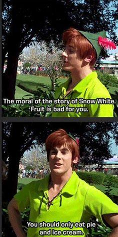 Peter Pan at Disney World