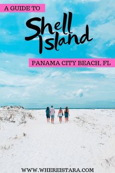 Shell Island, Panama City Beach is one of the most beautiful places in Florida. Here's my complete guide to a day trip to Shell Island including a Shell Island packing list, how to get to Shell Island and more. Panama City Beach Florida, Destin Florida, Florida Vacation, Florida Travel, Panama City Panama, Vacation Trips, Miramar Beach Florida, Best Beach In Florida, Vacation Countdown
